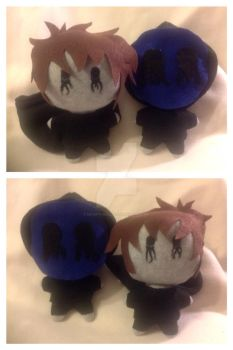 Commission: Eyeless Jack plushes by Decepti-Gal2313