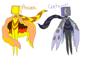 proxima and centauri ref by Nicey1015