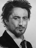 Robert Downey Jr by angelfalls714