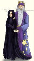HP - Snape and Dumbledore by nymphvt