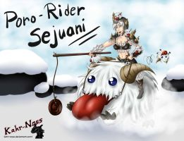 Poro rider Sejuani by Kahr-Noss