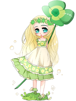 Lucky Clover by chiyo