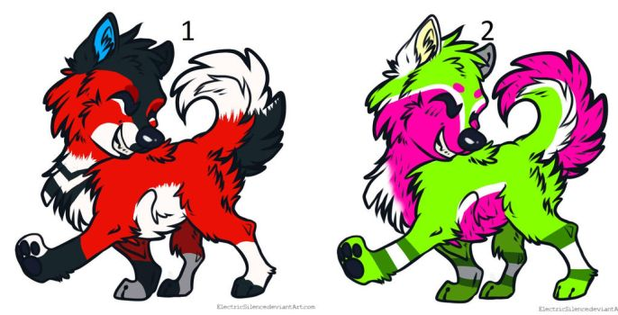 Puppy adoptables ::OPEN:: by pinkheartxx