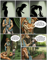 The Lost Golden Staff of The Dragon Queen 46-80 by DragonessLife