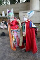 Kefka and his Dollie by Lady-Tigress