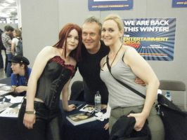 Me + Freddie with  Anthony Stewart Head by Leonie-Heartilly