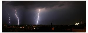 Thunder storm by Terza