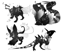 monochrome adopts by Pirate-Reaper