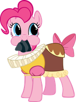 pinkie pie and tom dan by brainchildeats