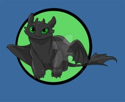 Toothless Tshirt Design by Truro