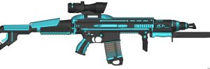 weapon: ScarXXL-ZV6 by Akoo97