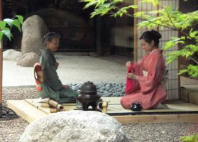 Japanese Tea Ceremony by uzushio