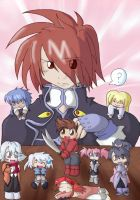 Kratos+Chibis by talesofsymphonia