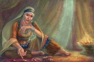 Persian gypsy by Girre