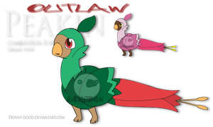 Outlaw Pokemon - Peakin by Prinny-Dood