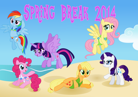 Spring Break 2014 by Itoruna-The-Platypus