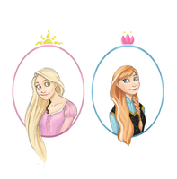 Princesses... by Moth-Queen