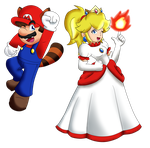 Mario Collab: Powerful Couple by NintendoGamer5000