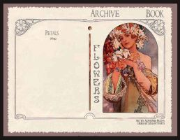 Flowers by Alphonse Mucha by szklanytygrys