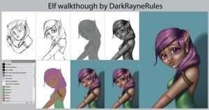 Elf walkthrough by DarkRayneRules