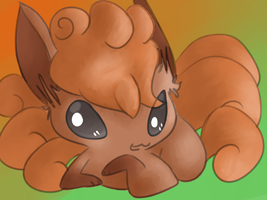 Vulpix in SAI by Chaomaster1