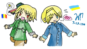 APH: Romania and Ukraine by Hetaotaku17