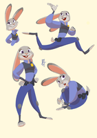 Judy Hopps by iJayDeath
