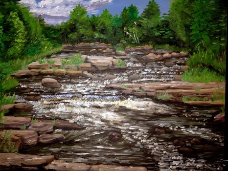Dells of the Eau Claire River by Goalie89