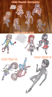 Chibi Magnet Commissions by Swiftstart