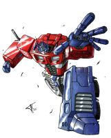 Optimus Prime Transformers by Joker-s-Wild