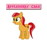 MLP: FIM OC- Appleberry Cake by theneopetmaster