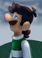 Stand in the Rain by BaconBloodFire