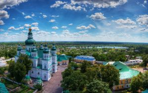 Holy Trinity Cathedral (Chernihiv) by roman-gp