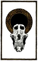 Baboon Skull by Deadsound