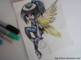 random markers drawing by vlower