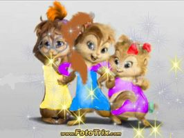 Allison and the chipettes look by AllisonChipette