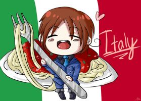 APH- Italy Chibi by Mintay-chan