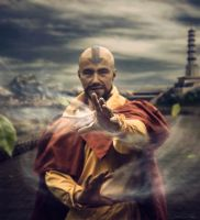 Tenzin Collaboration by flashflores2