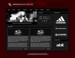 Ferocious Gaming Website by zblowfish