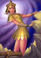 Sailor Galaxia by AlanGutierrezArt