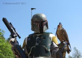 Boba Fett and (the) Falcon by BookwormElV