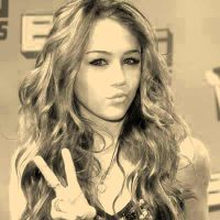 Miley Cyrus vintage photo by Maellanie