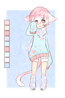 Pudding Socks Adopt [Custom] by Kunamei