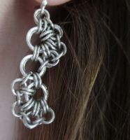 Maille Stepping Stone Earrings by Zehful