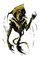 Scarecrow -colored by Skizoh