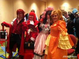 Lovely Ladies . . . and Grell by HikazePrincess