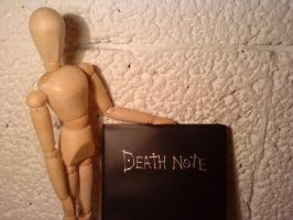 Manikin and Death Note 2 by tiiinamari1