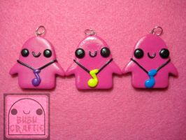 Bubu with Music Note Charm by efeeha