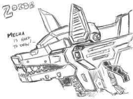Zoids - Wolf by sparrowstampede
