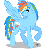 Male Rainbow Dash by 13BrokenHeart13